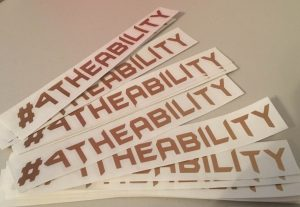 4theability gold Stickers