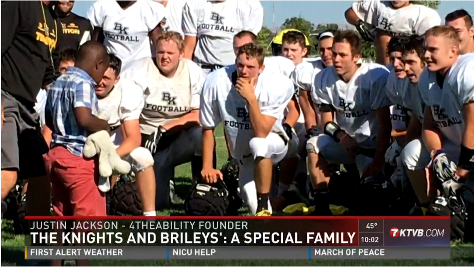 Bishop Kelly Football Team Embraces Boy With Special Needs – KTVB