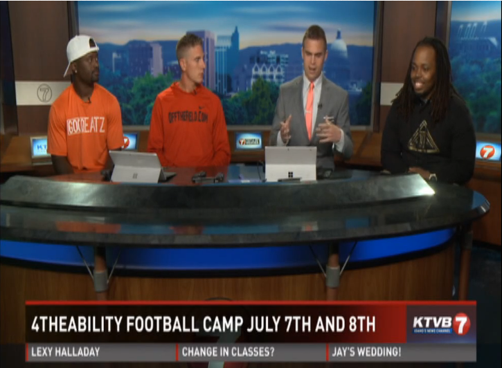 KTVB Interview About FrampCamp